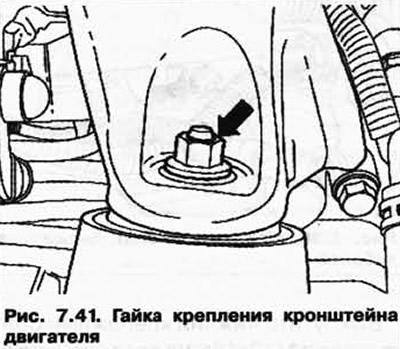 Снятие и установка стартера (10-цил. двигатель TDI 4,9 л