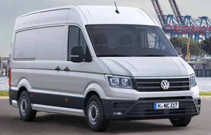 2018 VW Crafter Release Date Redesign, Price