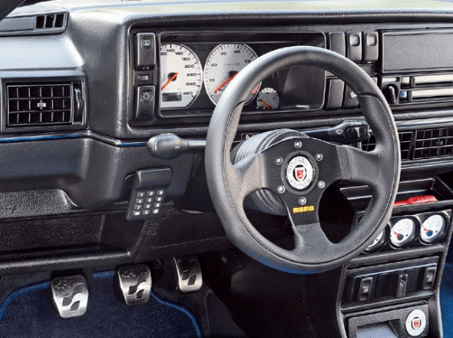 1990 Volkswagen Golf Interior and Redesign