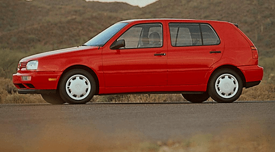1994 Volkswagen Golf Owners Manual and Concept