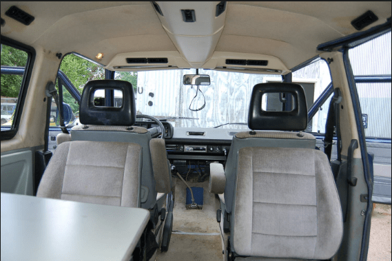 1990 Volkswagen Vanagon Interior and Redesign