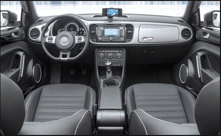 2014 Volkswagen Beetle Coupe Interior