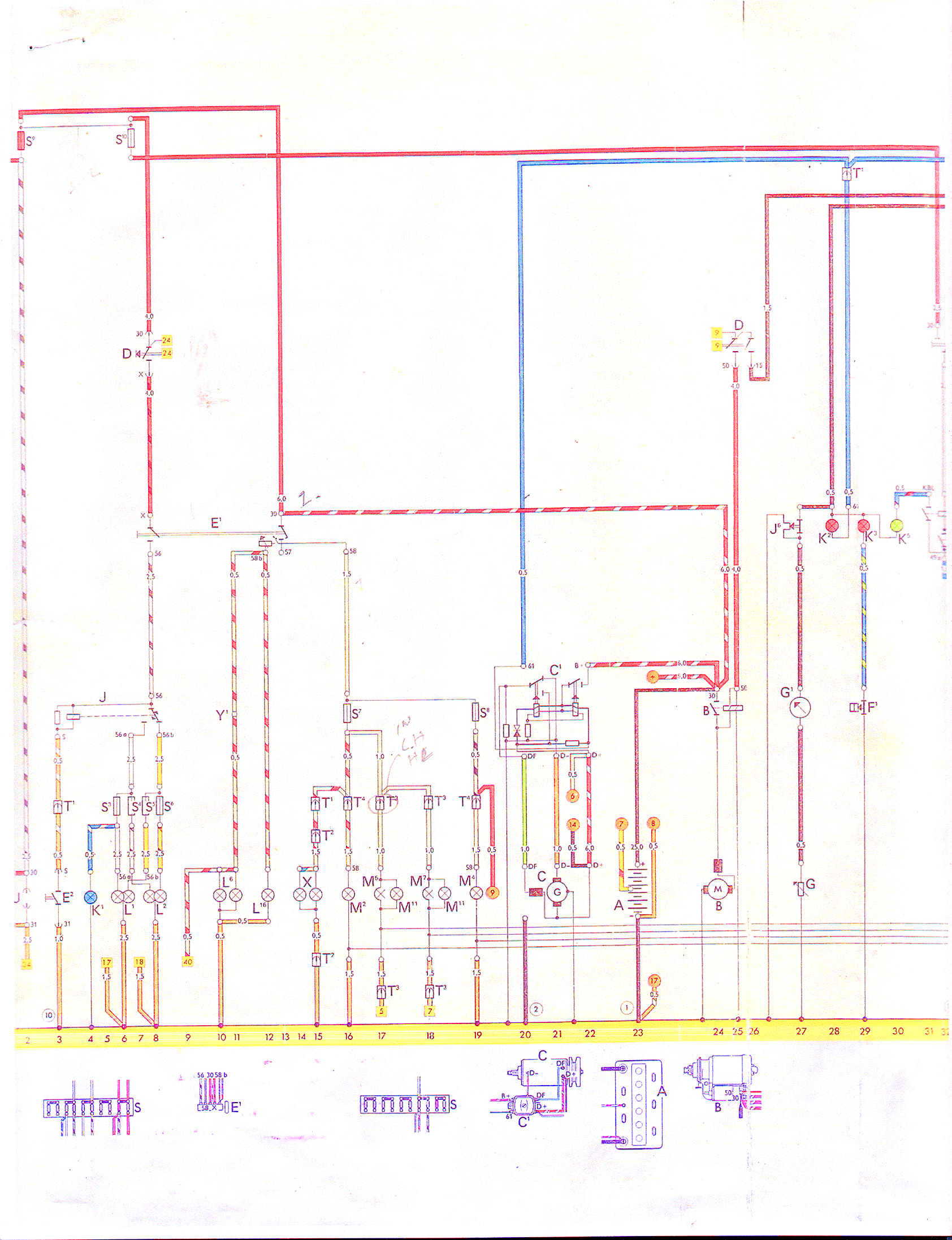 small resolution of wiring vw thing type 181 restoration vw engine wiring diagram 1973 vw thing wiring diagram