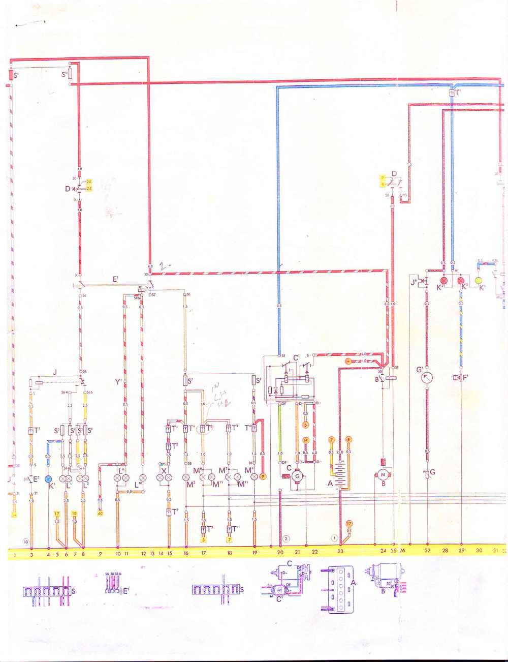 medium resolution of 181 vw thing wiring diagram