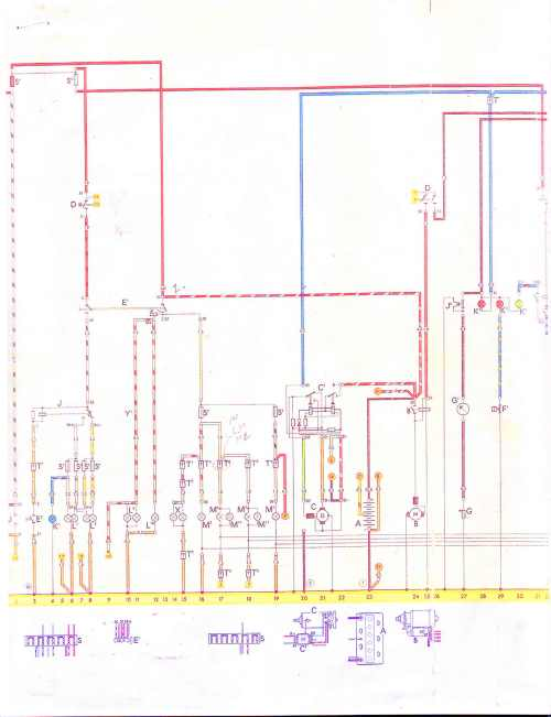 small resolution of 181 vw thing wiring diagram