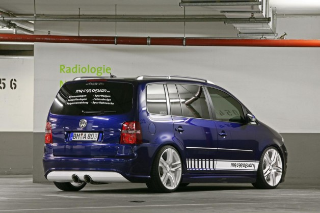 VW Touran MR Car Design VW Tuning Mag
