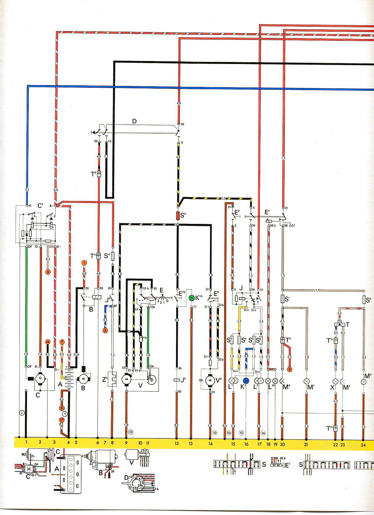 2002 vw golf stereo wiring diagram crf50 vwtyp1.com • view topic - 1303s-73 tredje året