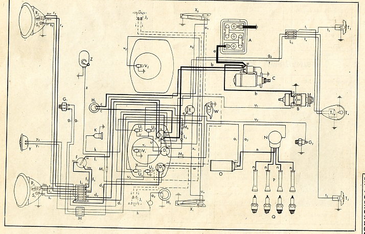 VW 49 52?resize\\\\\\=665%2C427 100 [ 69 vw bug wiring diagram ] vw ignition switch wiring Buck Stove Manuals at gsmx.co