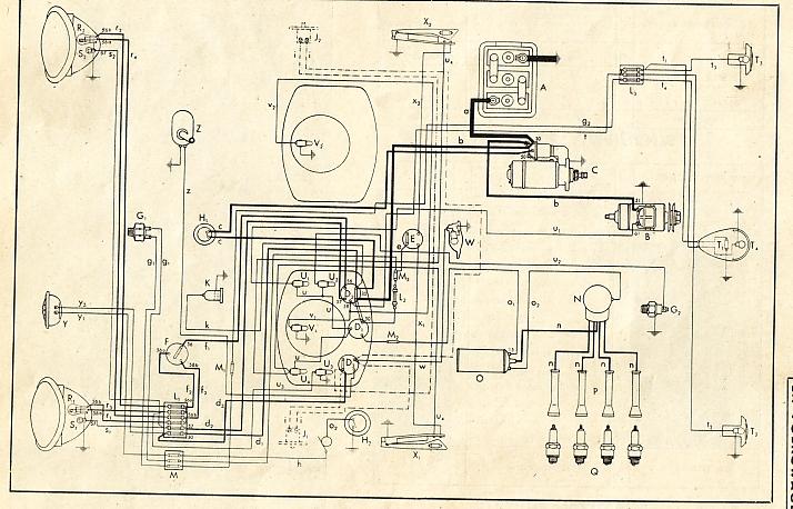 1966 Volkswagen Bug Wiring Diagram. Volkswagen Vacuum Diagram ...