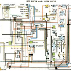 Electric Wiring Diagram Car Gm 2 Wire Alternator Volkswagen Typ 1