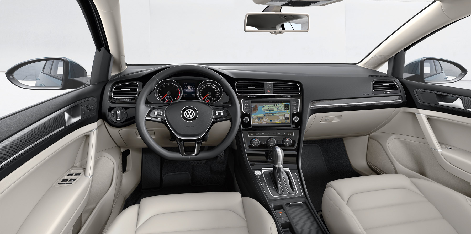 While the top sel and sel premium receive the premium content, we think the se. volkswagen-golf-7-interior-9 - VWVortex