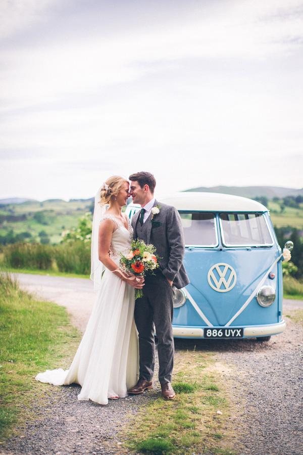 vw car hire wedding