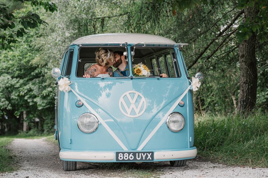 Wedding Camper hire Cumbria