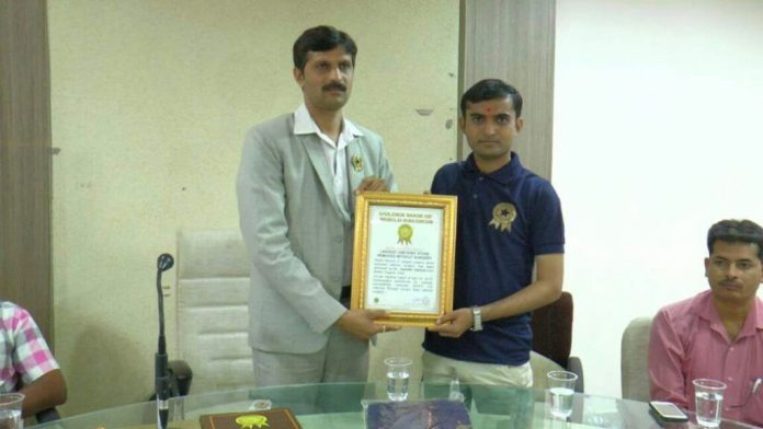 Dr. Hadiyal with Mr. Alokkumar
