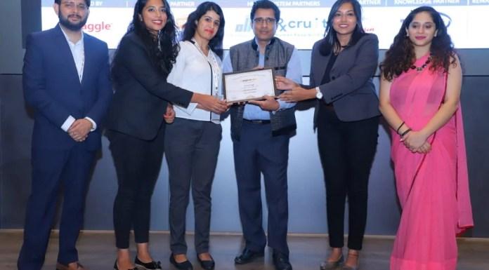 Cadila Pharmaceuticals has won the prestigious 'Observe Now Future of Workplace Award'
