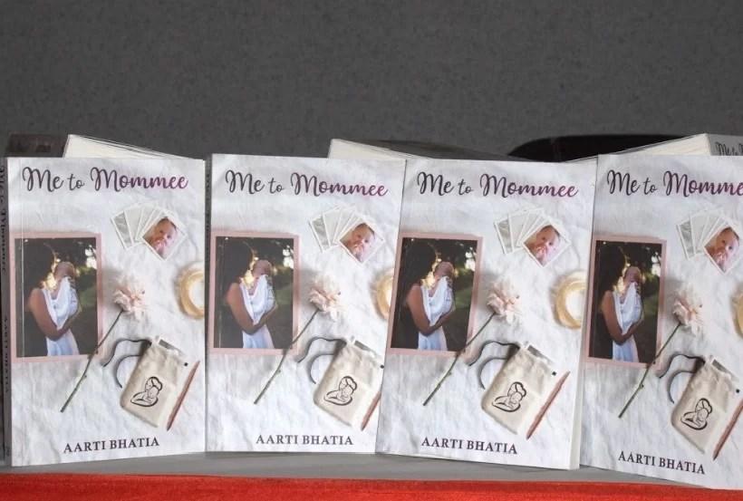 Me to Mommee Book by Aarti Bhatia - Vyapaarjagat