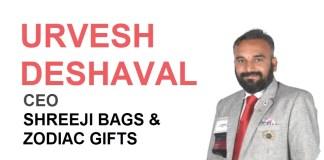 URVESH DESHAVAL'S Shreeji bags