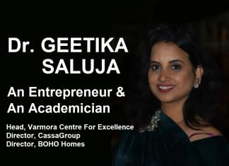 Dr Geetika Saluja