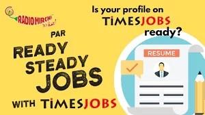 Ready Steady Jobs with Timesjobs