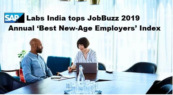 SAP Labs India tops JobBuzz 2019 Annual