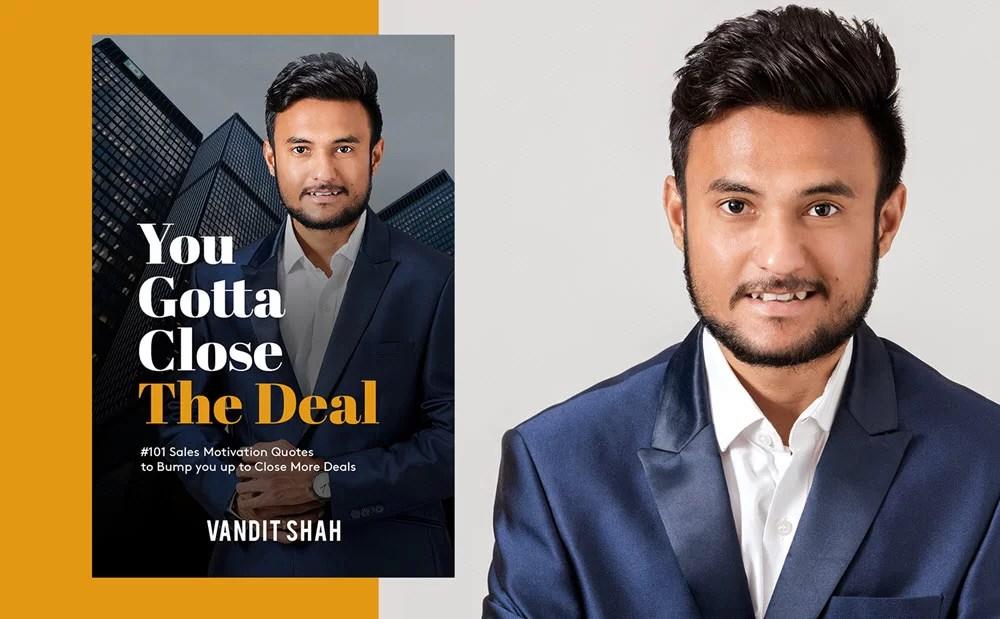 Vandit Shah an Young Entrepreneur