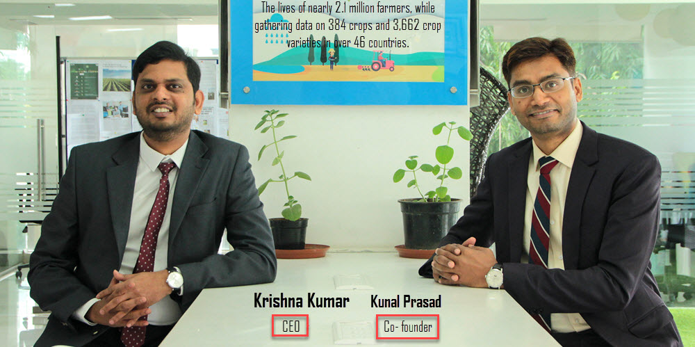 Krishna Kumar CEO - Kunal Prasad Co- founder