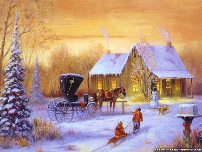 Bakgrundsbilder skrivbordsunderlgg wallpapers  Jul och julmotiv