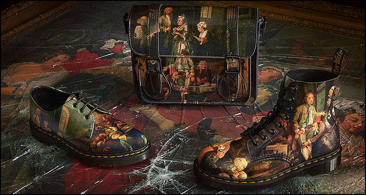 hogarth - dr Martens Geek shoes
