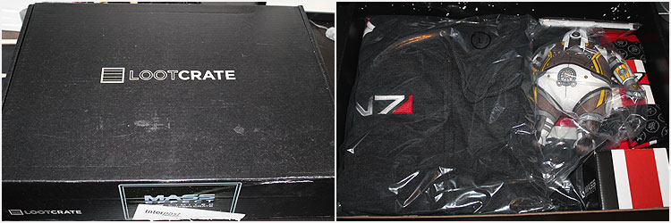 Mass Effect Loot Crate Opening