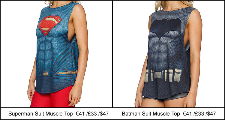 Superman Batman Muscle Suit