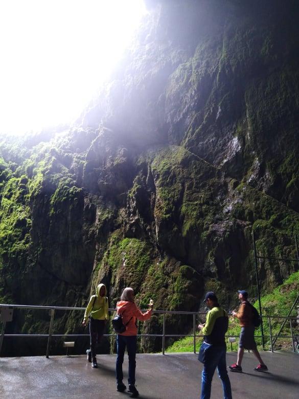 Priepasť Macocha Punkevná jaskyňa
