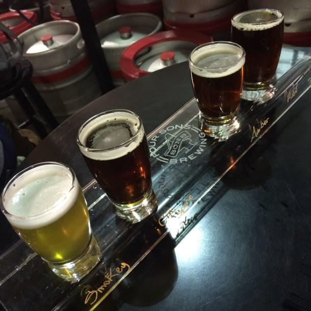 Four Sons Brewing, Huntington Beach