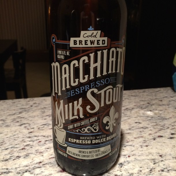 Abita Brewing Co. Macchiato Espresso Milk Stout