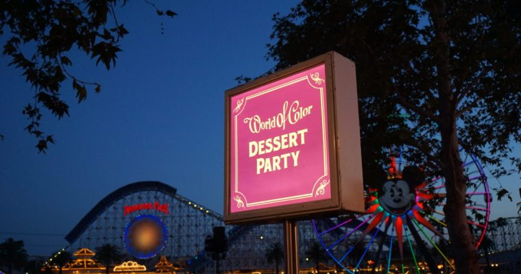 Sweets and Seats: The World of Color Dessert Party