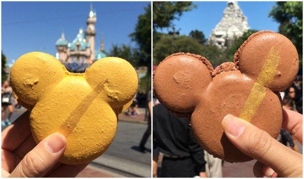 Mickey Macarons from the Jolly Holiday Bakery