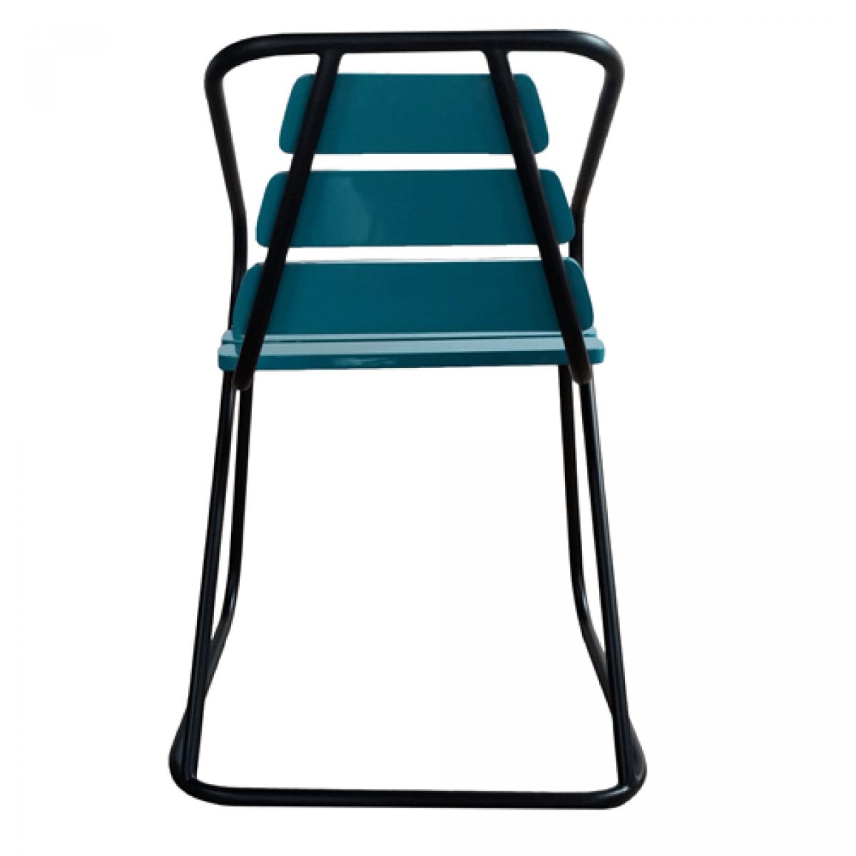 blue metal chairs amazon patio flamingo