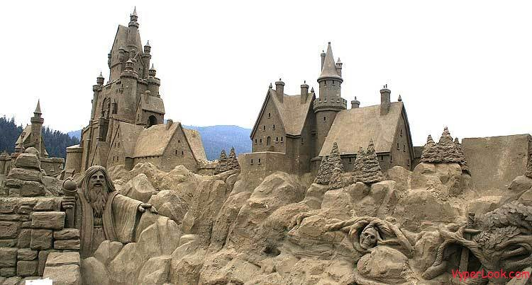Sandcastle Art and Biggest Sandcastle in the World
