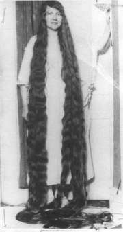 12 year girl with longest hair