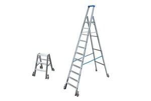 Verrijdbare ladders met treden