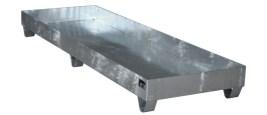 104805 Opvangbak,  v. 4x200l vat