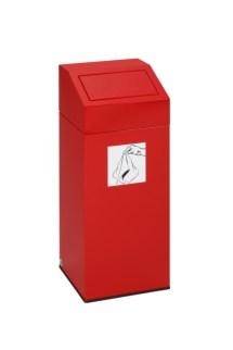 112536 Afvalverzamelaar V. Poetsdoeken,  1x45l
