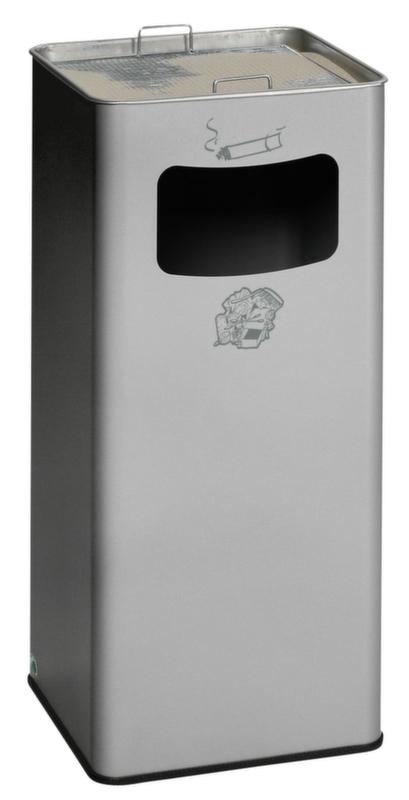 954066 Combi-Asbak,  HxBxD 700x320x320mm