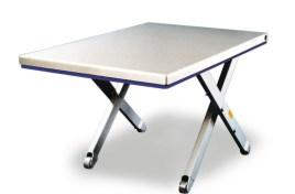 787066 Platte Schaarheftafel,  draagverm. 900kg