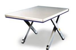 787077 Platte Schaarheftafel,  draagverm. 1200kg