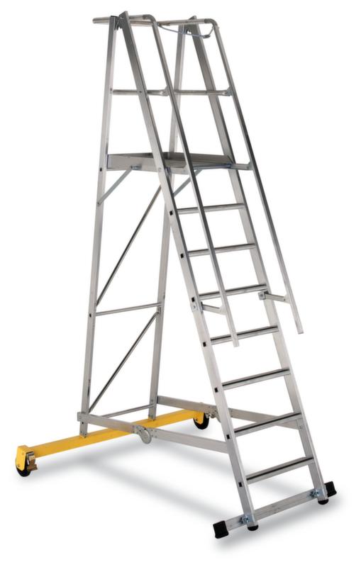 550271 Verrijdbare Platformladder,  bordes HxBxD 2100x600x630mm