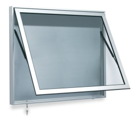 310085 vitrine,  v. 27x DIN A4