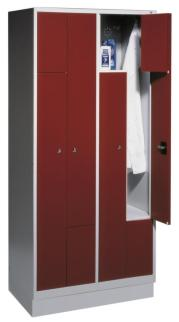 204343 Z-garderobekast,  HxBxD 1820x820x510mm