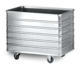 204033 Aluminium Bakwagen,  draagverm. 200kg