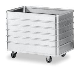 501814 Aluminium Bakwagen,  draagverm. 250kg