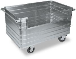204102 Aluminium Bakwagen,  draagverm. 400kg